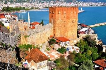 Antalya naar Alanya vertrek
